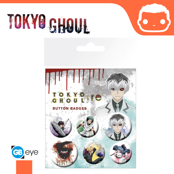 Badge Pack - Tokyo Ghoul RE Mix