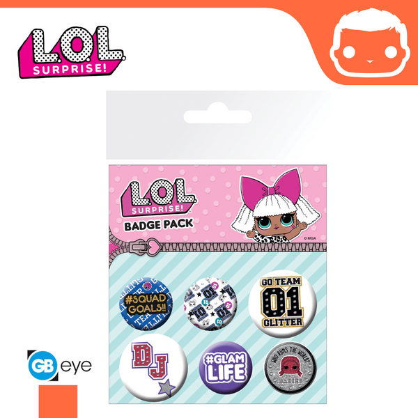 Badge Pack - LOL Suprise Mix