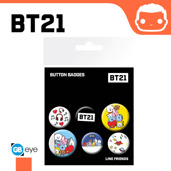 Badge Pack - BT21 Mix