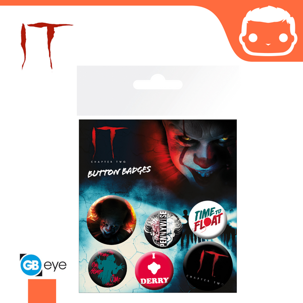 Badge Pack - IT Chapter 2 Pennywise