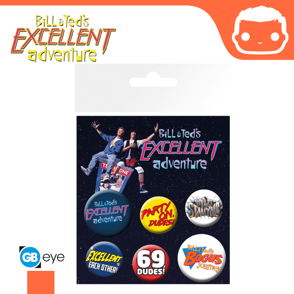 Badge Pack - Bill & Ted