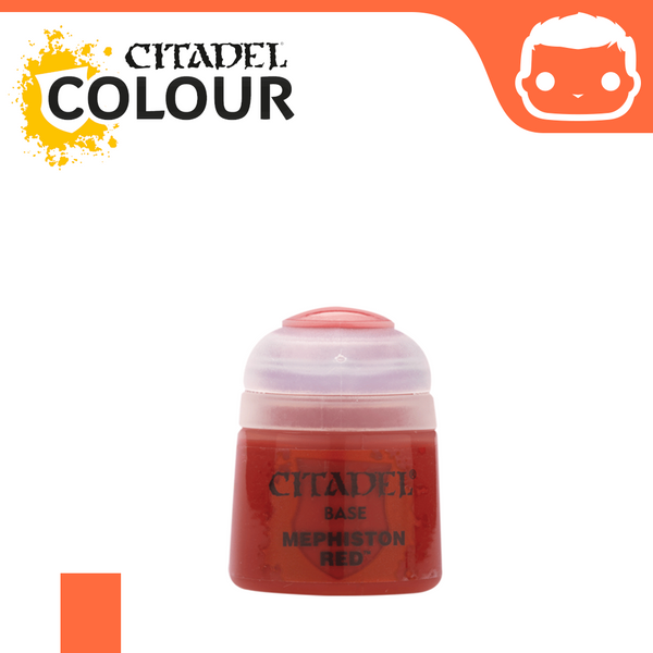 Citadel Paint: Base - Mephiston Red