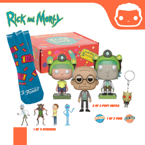 Rick and Morty - Blips and Chitz Arcade Exclusive Collector Box