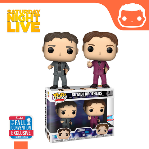 Saturday Night Live (SNL) - Butabi Brothers 2-Pack - NYCC Exclusive
