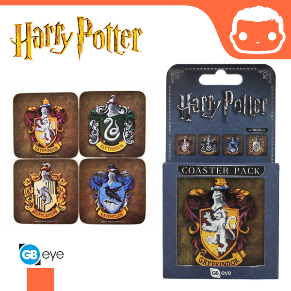 Harry Potter - Coasters - Crests