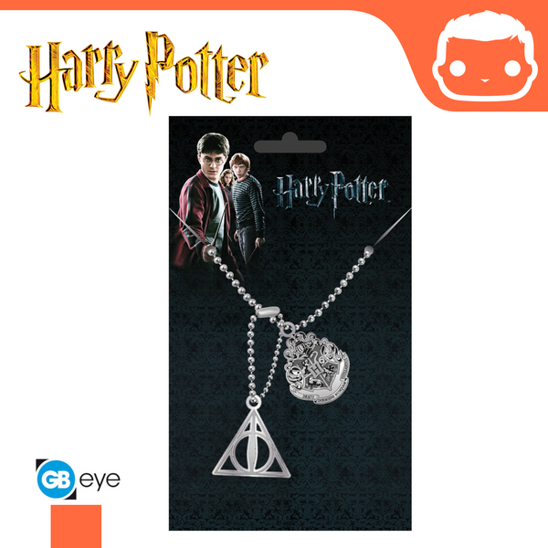 Harry Potter - Pendant - Crest & Hallows