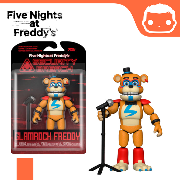 Five Nights at Freddy's Glamrock Freddy Action Figure