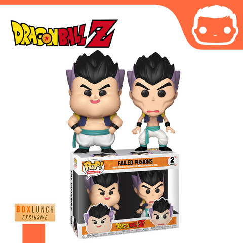 Dragonball - Failed Fusion Double Pack - Box Lunch Exclusive [Damaged]