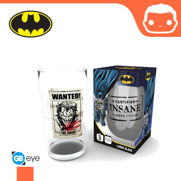 Large Glass - DC Comics - The Joker Insane