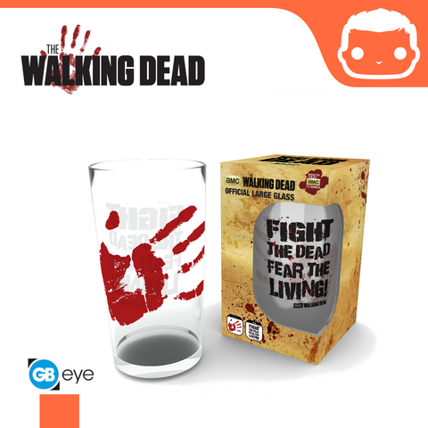 Large Glass - The Walking Dead - Fight The Dead