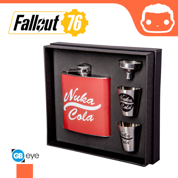 Hip Flask Set - Fallout - (Nuka Cola)