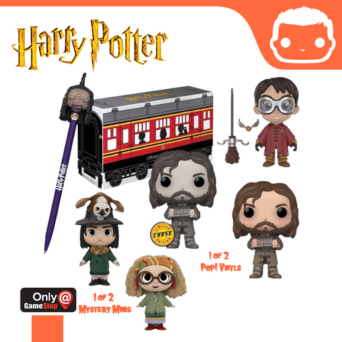 GameStop Exclusive Harry Potter Hogwarts Express Exclusive Collector Box