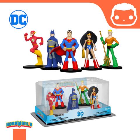 Hero World: 5-Pack DC Heroes