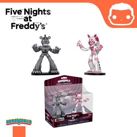 Hero World: 2-Pack FNAF Yenndo & Funtime Foxy