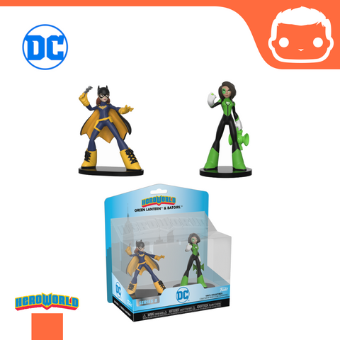 Hero World: 2-Pack DC Batgirl & Green Lantern