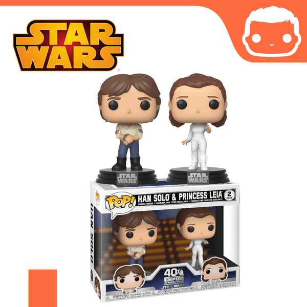 Star Wars - 2-Pack Han & Leia Empire Strikes Back 40th Anniversary