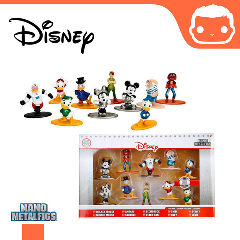 Nano Figure DISNEY 10 Pack #1