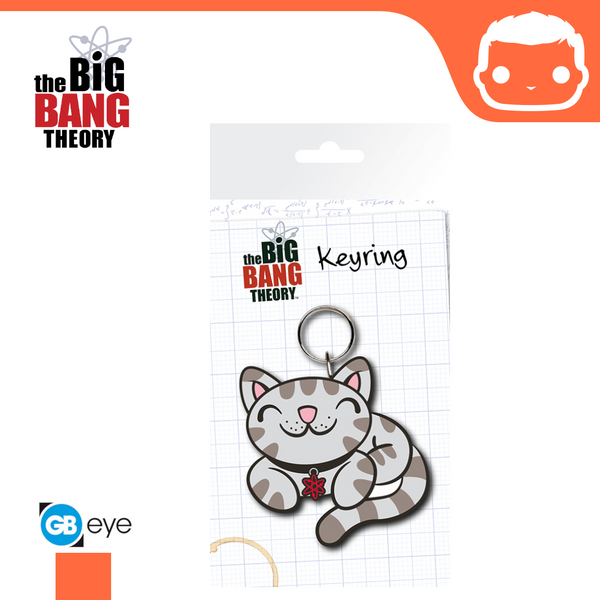 The Big Bang Theory - Kitty Keyring