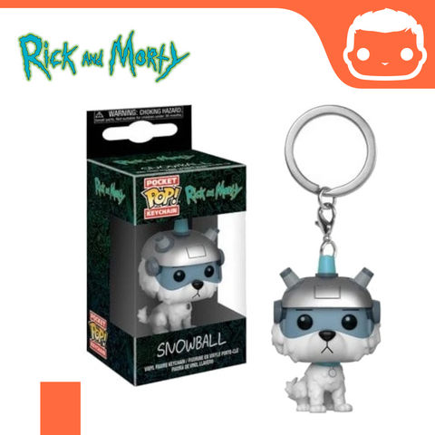 Keychain - Rick and Morty - Snowball