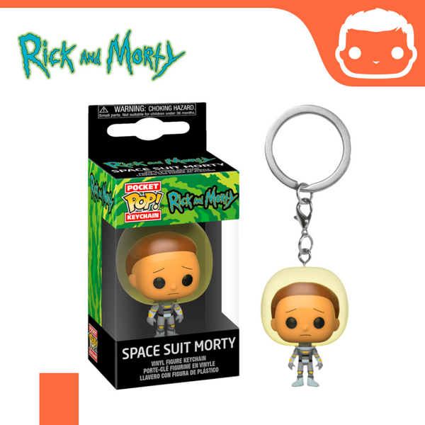 Keychain - Rick and Morty - Space Suit Morty