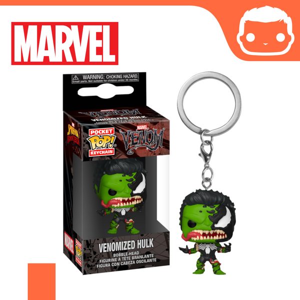 Keychain - Marvel - Venomized Hulk