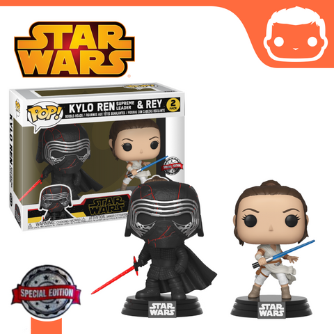 Star Wars - Kylo Ren & Rey Exclusive Double Pack