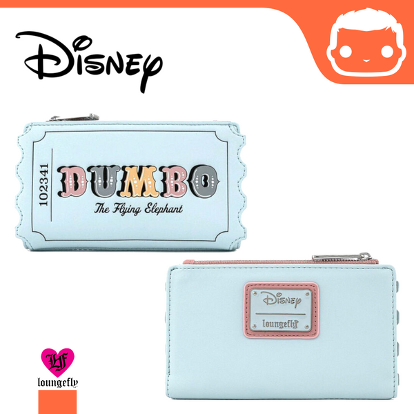 Disney by Loungefly Wallet Dumbo Circus Ticket Flap