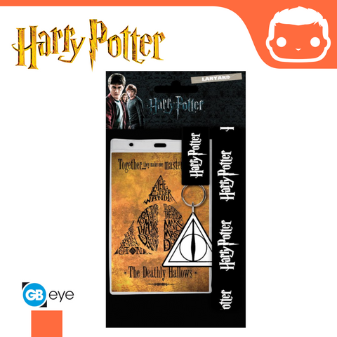 Harry Potter - Lanyard - Deathly Hallows