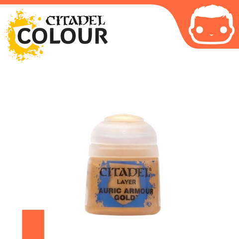 Citadel Paint: Layer - Auric Armour Gold