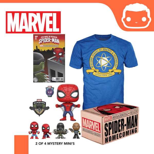 Marvel Collector Corps Box Spider-Man Homecoming