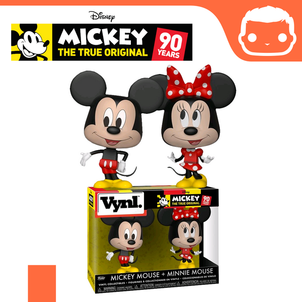 VYNL: Mickey & Minnie Mouse Double Pack