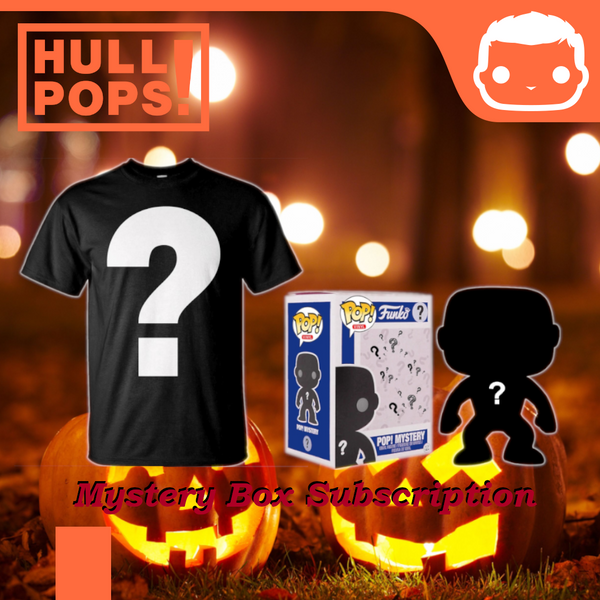 Pop! & Tee Monthly Mystery Box Subscription ~ October 2020 [Small]