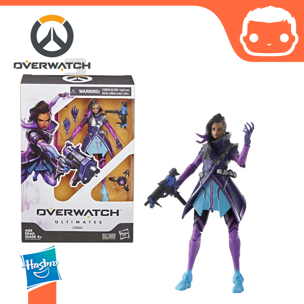 Overwatch Ultimates - Sombra Action Figure 6in