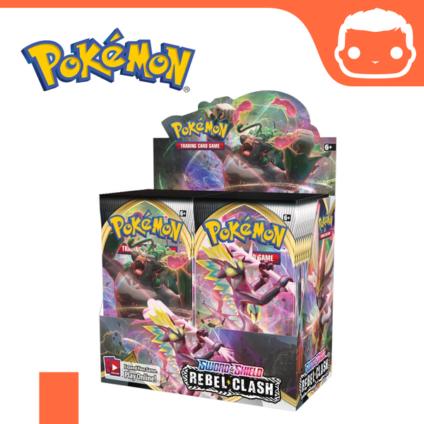 Pokémon - Sword and Shield Rebel Clash - Single Booster Pack