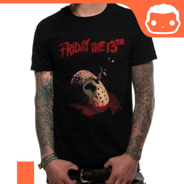 T-Shirt - Size: XL - Friday 13th - Mask & Dagger