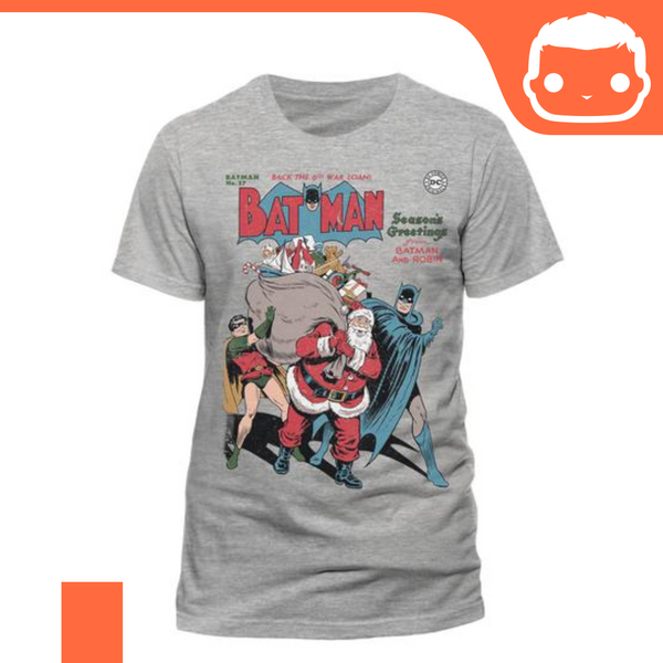 T-Shirt - Size: L - Batman - Seasons Greetings
