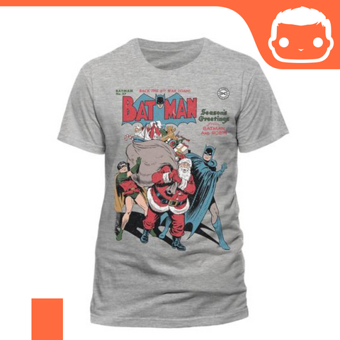 T-Shirt - Size: M - Batman - Seasons Greetings