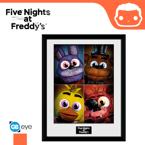 Five Nights At Freddys - Quad - 30 x 40 Collector Print