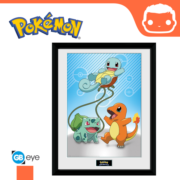 Pokemon - 30 x 40 Collector Print - Kanto Starter