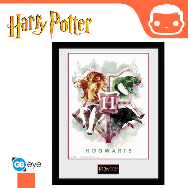 Harry Potter - 30 x 40 Collector Print - Hogwarts Water Colour