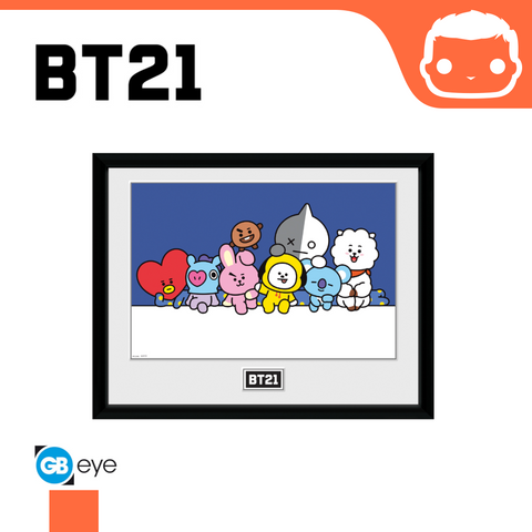 BT21 - 30 x 40 Collector Print - Group