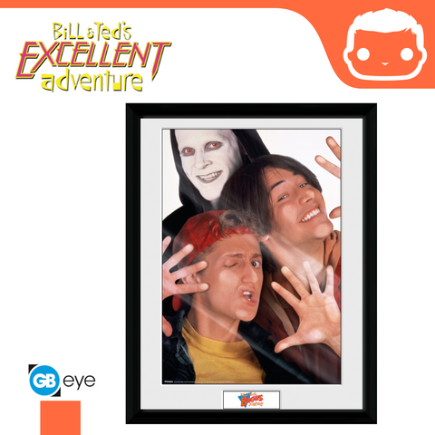 Bill and Ted - 30 x 40 Collector Print - Bogus Journey
