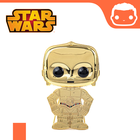 Funko Pop! Pin - Star Wars - C-3PO