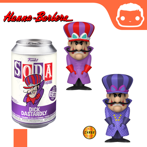 Pop! Soda - Hanna Barbera - Dick Dastardly [Pre-Order]