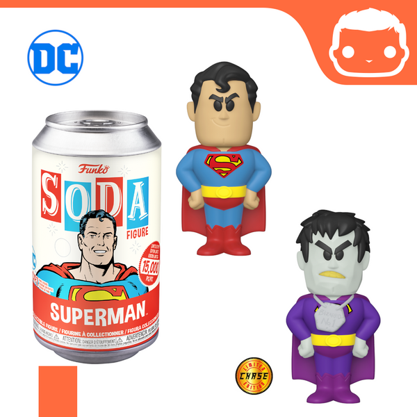 Pop! Soda - DC Universe - Superman