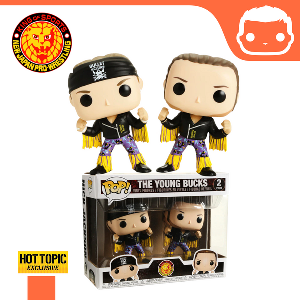 New Japan Pro Wrestling - The Young Bucks Double Pack - Hot Topic Exclusive