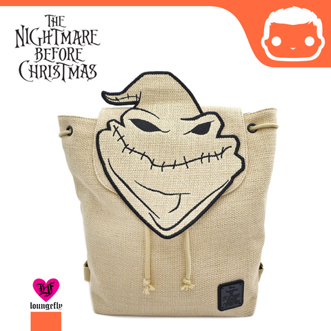 Disney The Nightmare Before Christmas Burlap Backpack
