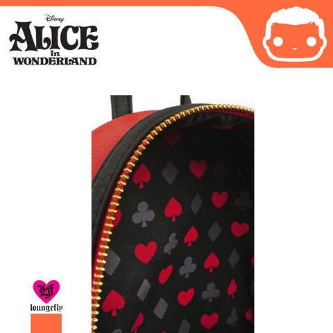 Disney Alice in Wonderland - Queen of Hearts Mini Backpack