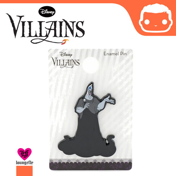 Loungefly - Disney - Hades Black Enamel Pin