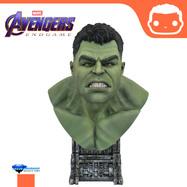 Thor: Ragnarok Legends in 3D Bust 1/2 Hulk 25 cm
